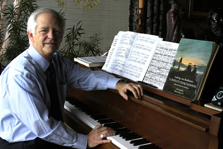 Local Ron Harris leads a new chamber group performing at Soka University on Feb. 10.