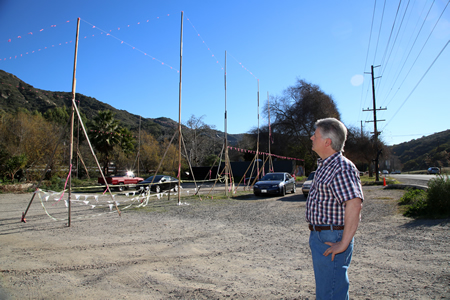 Sun Valley Drive resident John Albritton intends to continue to challenge Louis Longi's project in Laguna Canyon, which received the go-ahead last week. Photo by Jody Tiongco