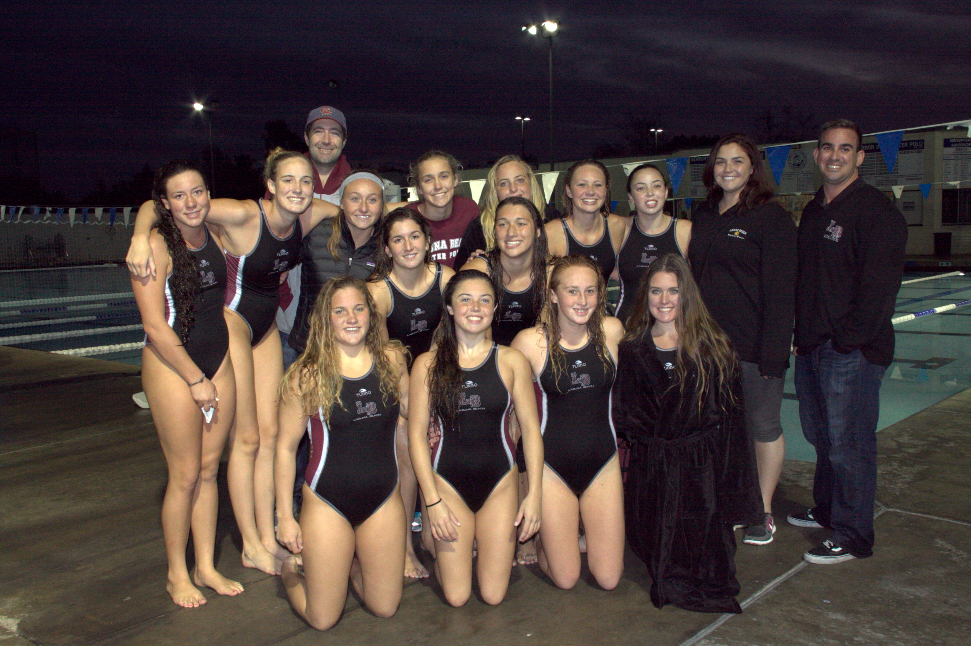 girls water polo the girls water polo team is already setting