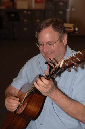 Math teacher and concert organizer Gary Shapiro.