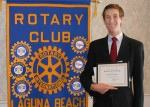 Rotary Club Honors Outstanding Student