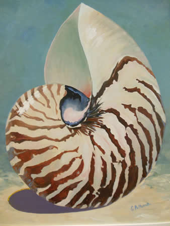 """Memories-Nautilus of Times Past,"" by Gail Poltorak, part of the new Susi Q show."