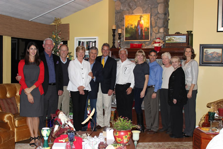 Board members, from left, Nicole Anderson, Jerry Bieser, Rick Balzer, Mary Ferguson, Donnie Crevier, Tom Davis, Jim Fletcher, Lisa Mansour, John Mansour, Jane Egly, Darrcy Loveland, and Lyneé Kniss. Not pictured: Laura Tarbox.