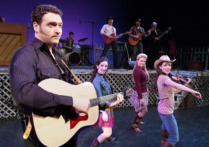 """Ring of Fire,"" a 34-song valentine to country music's Johnny Cash performed by a cast of 10 musician actors, Laguna Playhouse, 606 Laguna Canyon Rd. 949-497-2787 www.lagunaplayhouse.com  Through Feb. 2"
