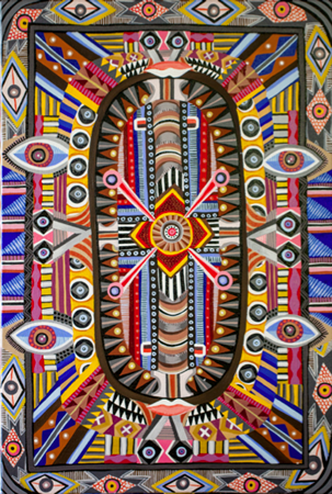 Artist reception for Zio Ziegler, his work seen here, 6 p.m. Saturday, Jan. 4, Artist Republic 4 Tomorrow, 1175 S. Coast Hwy. 949-988-0603 www.AR4T.com