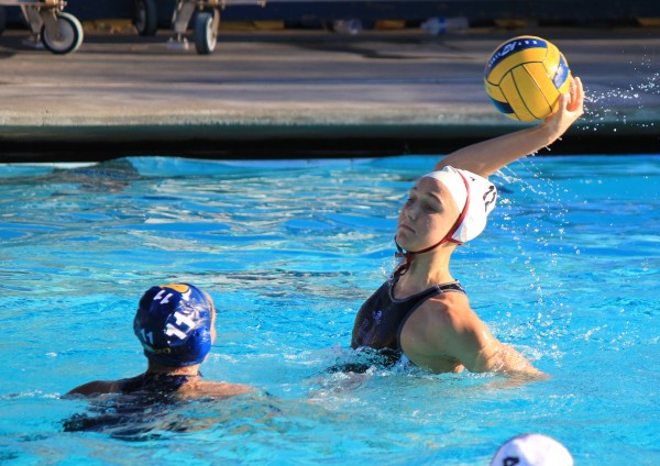 Freshman Aria Fischer scored four goals in Laguna's regular season finale, a 15-4 win on the road against El Toro, Friday, Feb. 14.