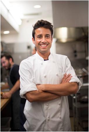 Chef Andrew Gruel