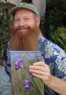 Bob Allen with his new book.