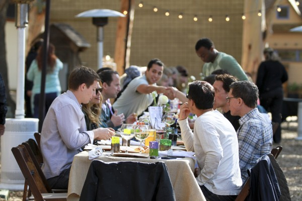 A three-course sustainable meal will be served from 4-7 p.m. Sunday, March 9, on handcrafted dining sets made by Sawdust Festival artists, who will be part of crowd at Celebrate Good Taste's Art of Dining event on the festival grounds, 935 Laguna Canyon Road. Tickets, $175 per person: 949 494-3030.