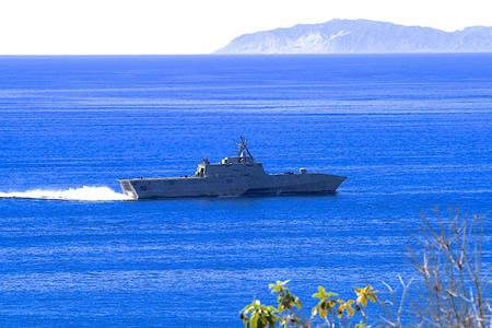 The USS Coronado