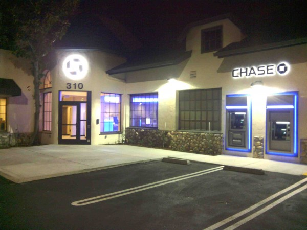 The new Chase bank.