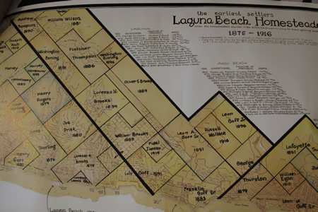 Beryl Viebeck's homesteader map.