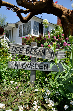 A Crescent Bay yard included in this year garden tour, set for May 3.