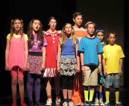 "The Laguna Playhouse Youth Theatre's production of ""Stinky Kids, the Musical,"" runs  through Sunday, April 13. Ages 3 and up are welcome. For performance times call 497-2787."