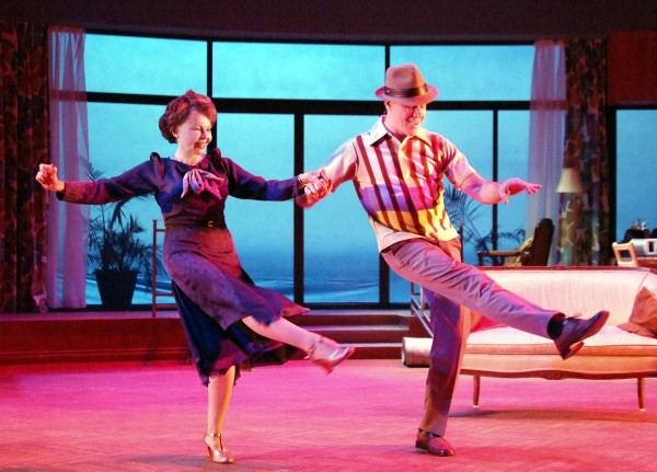 "Leslie Caron and David Engel in Laguna Playhouse's ""Six Dance Lessons in Six Weeks,"" through June 8. Tickets: 949 497-2787, ext. 1."