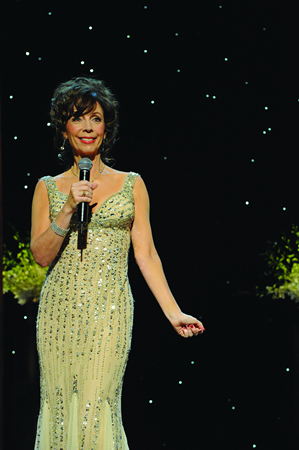 Comedienne Rita Rudner in her new dress.