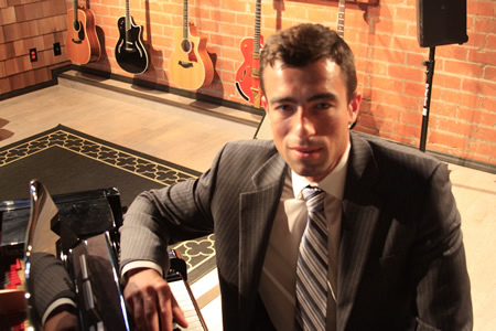 Dustin Yrizarry established Laguna Sound Studio, a new recording outlet for musicians and vocalists.