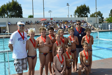 The team coached by Carl Renezeder and Rob Capobianco will compete in a Junior Olympic match in Irvine on May 30.