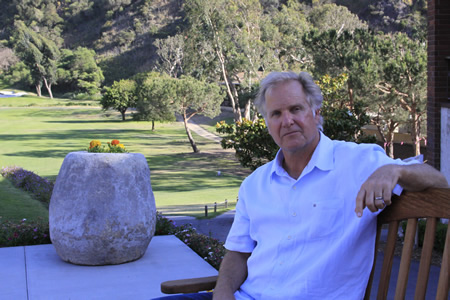 Mark Christy on The Ranch in Aliso Canyon.