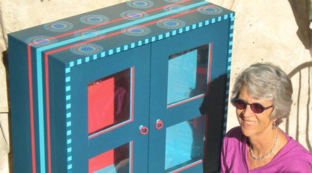 Sue Linder's Cabinet Aboriginal, part of the Fun Funky Furniture silent auction/garden party sponsored by LOCA, Sunday, May 4, 3-6 p.m. Laguna Nursery 1370 S. Coast Hwy. $15 949-363-4700