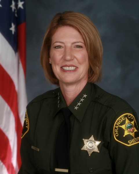 Sandra Hutchens is the Orange County sheriff-coroner.
