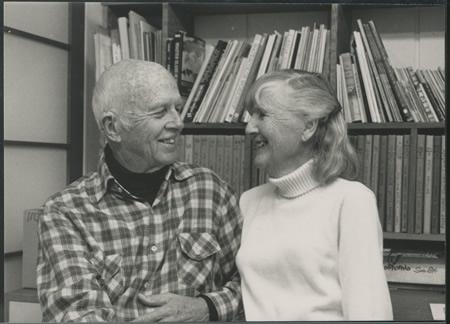 Fellow artists Rex and Joan Brandt.