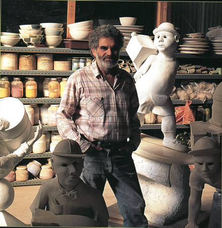 Rothman in his Laguna studio.