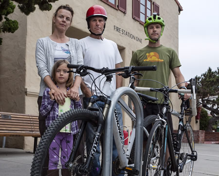 Tamara Hlava, Billy Fried and Max Isles have established Livable Streets Laguna.