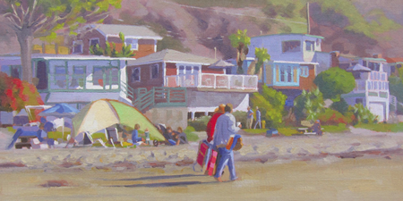 A work included in an exhibit this weekend in Crystal Cove.