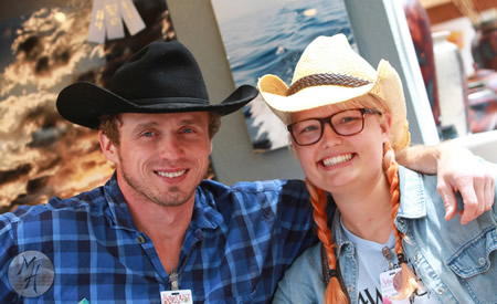 Sawdust exhibitors will lead the western themed art projects.