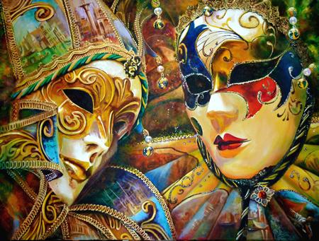 "Artist Eye Gallery celebrates ""Carnevale"" Italian style."