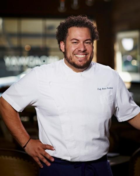 Broadway's owner-chef Amar Santana