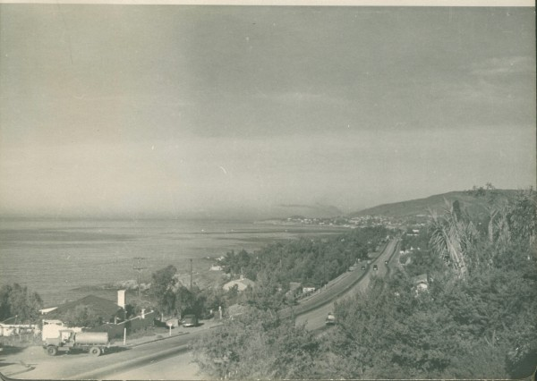 The view from the Hartley home on Alta Vista Way, 1943.