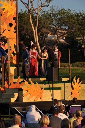 "Shakespeare by the Sea presents ""Hamlet"" and ""A Midsummer Nights Dream"" Saturday and Sunday, July 19 and 20, respectively, 7 p.m., at Bonita Canyon Sports Park, 1990 Ford Rd., Newport Beach. Free."