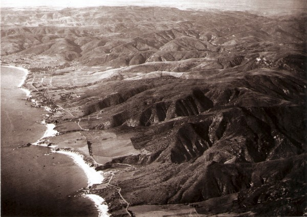 Early 1900s Aerial View of Arch Beach Heights