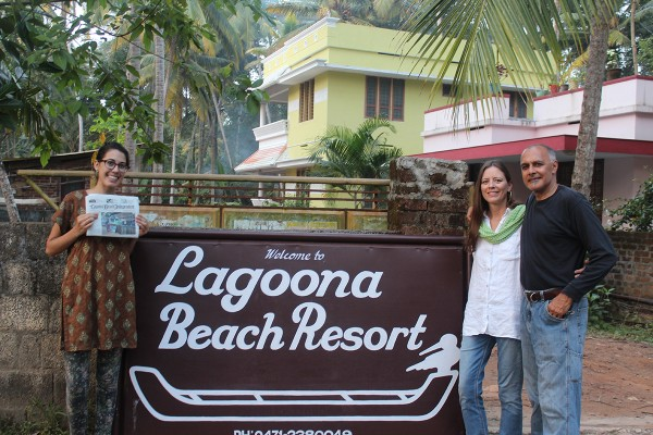 Former locals Susan and Manjeet Randhawas, now Aliso Viejo residents, met their daughter Jhani in India at the close of her study abroad program. This sign caught their eye in Pachalloor Beach, in Thiruvananthapuram, Kerala, India.