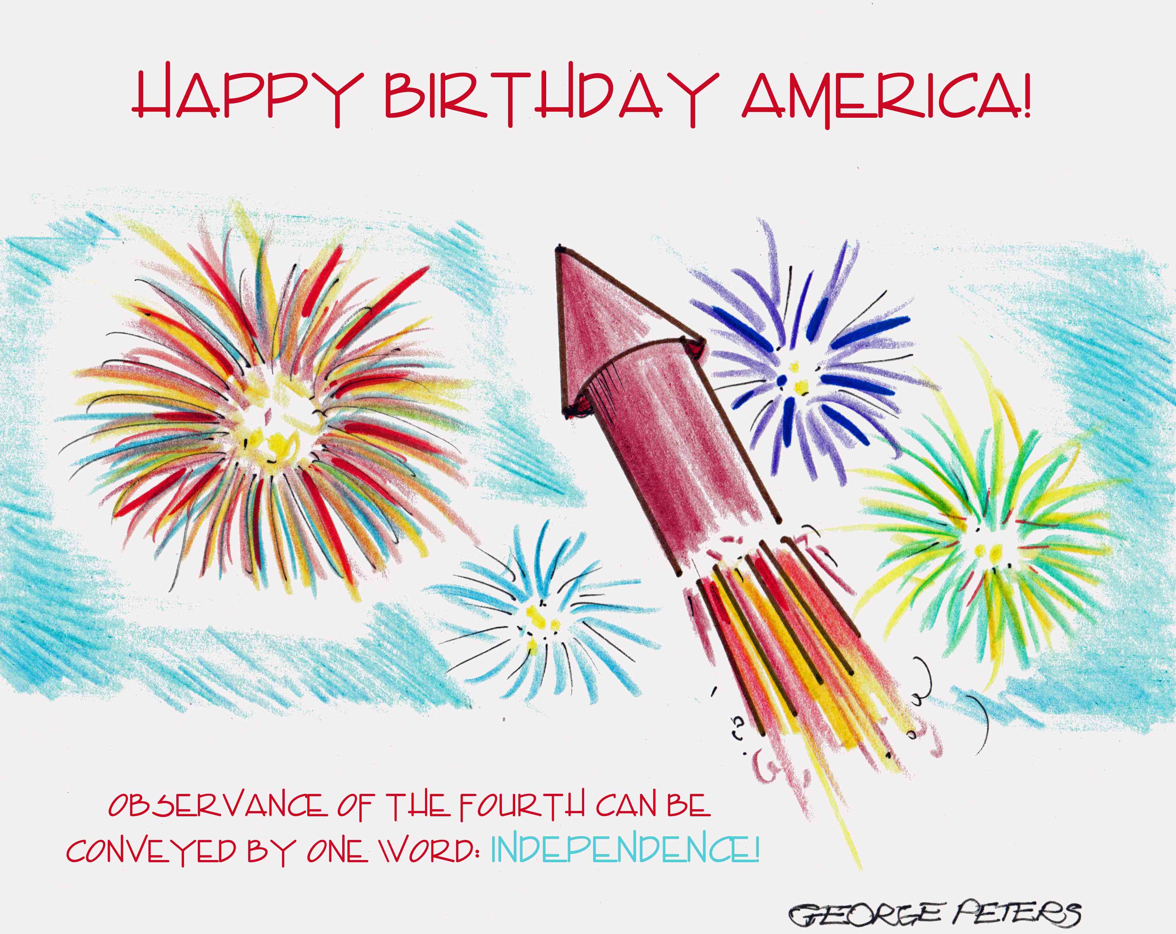 s cartoon 4th of july 2013
