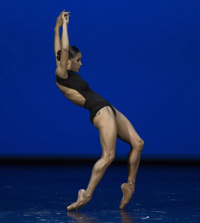 American Ballet Theater soloist Misty Copeland performs with New York City Ballet's Gonzalo Garcia during the Laguna Dance Festival, Sept. 11-14.