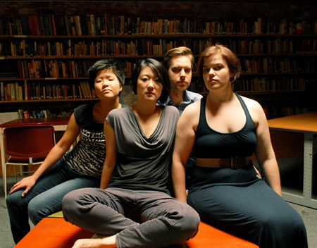 "The Argus Quartet performs for ""Ekphrasis,"" a dance composition that makes its debut at the museum Thursday, Aug. 14."