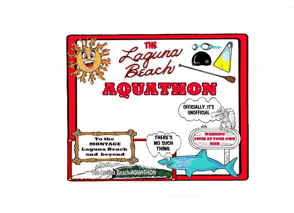 cartoon Aquathon GBond 2014