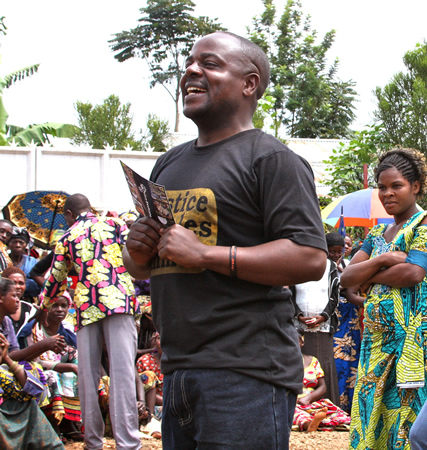 Amani Matabaro, a Peace Action Exchange partner and an advocate for peace in the Congo, will attend Friday's event.