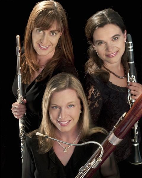 Chamber musicians Ceora Winds.