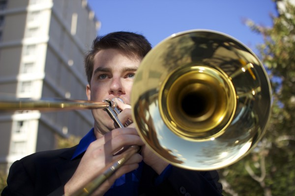 Trombonist Kurt Ferguson