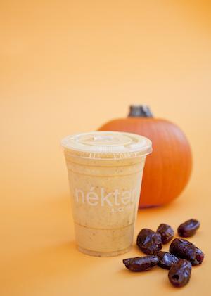 Pumpkin smoothie.