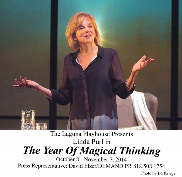 "Linda Purl in ""The Year of Magical Thinking,"" Laguna Playhouse, 606 Laguna"
