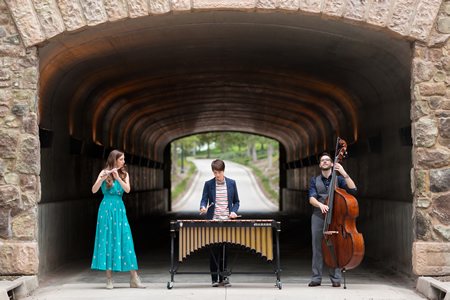 The Upside trio performs Thursday at the museum.