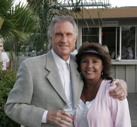 Bill Medley with Linda Hatfield, wife is his former singing partner.
