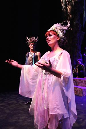 Anya Gourley, the Fairy Queen.