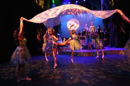 Titania's fairies.