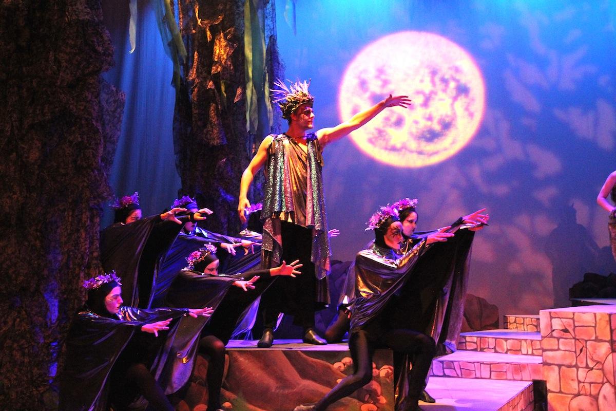 Zane Fair as Oberon, the Fairy King.